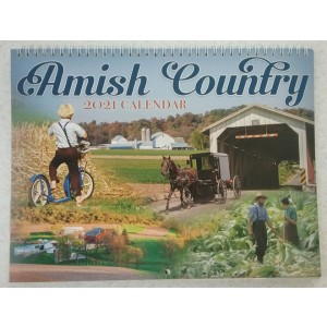 amish country, 2021 calendar