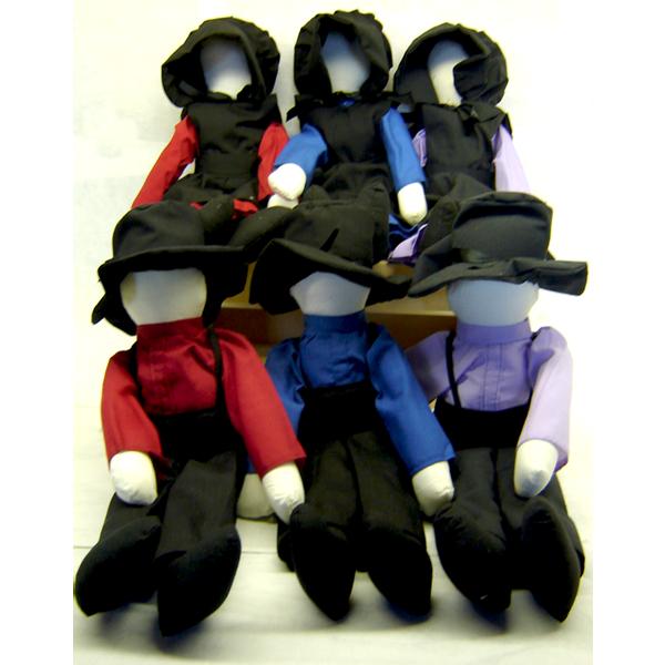 amish dolls, 14 inches