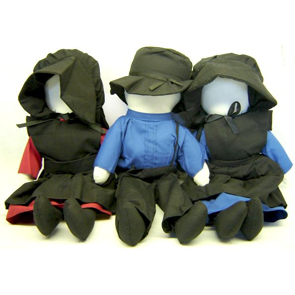 amish dolls, 18 inches