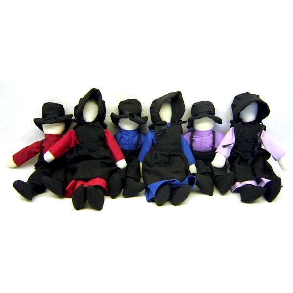 amish dolls, 8 inches