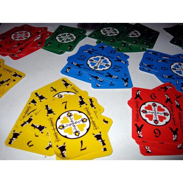dutch blitz, card game, cards