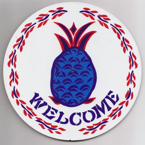 amish, hex sign, hospitality & welcome blue
