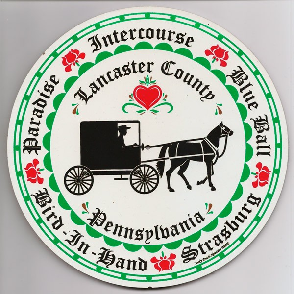 amish, hex sign, lancaster county multi town