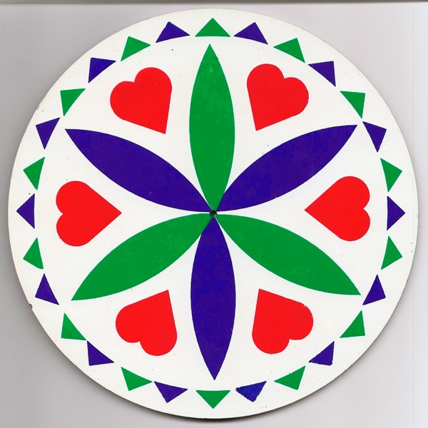 amish, hex sign, love and romance, green