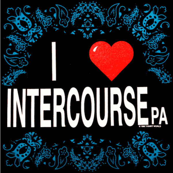 i love intercourse, pa, shirt, design