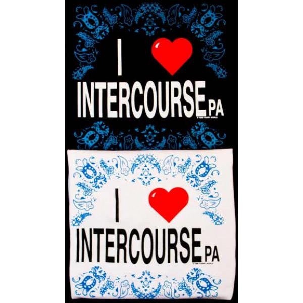 i love intercourse, pa, shirt, black and white, designs