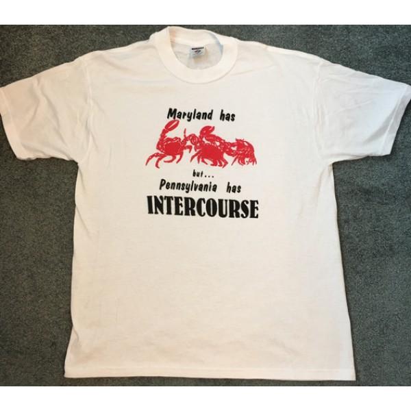 maryland, intercourse, pa, t-shirt