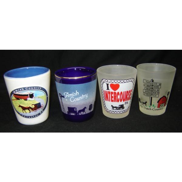 dutch haven, shot glass, set
